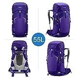 Gonex 55L Hiking Internal Frame Backpack Outdoor