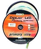 DEEJAY LED TBH183B500 18Ga 500'Y/B/G Primary Wire