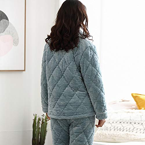 Three 164cm Thick 58 Quilted Plus Cute Wear Xl162 Coral Winter 168cm Suits And Autumn layer 57kg Can Pajamasx Outside Pajamas Velvet Clothing Warm 65kg L158 Ladies 47 I4qppxzR