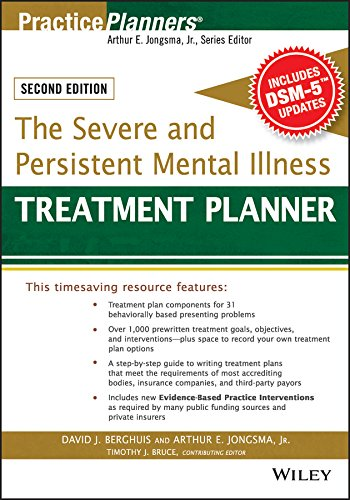 The Severe and Persistent Mental Illness Treatment Planner (PracticePlanners) Pdf