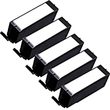 5 Inkfirst® Black Ink Cartridge PGI-270 PGBK ( PGI-270XL BK) Compatible Remanufactured for Canon PGI-270 XL Black PIXMA MG6821 MG6820 MG6822 MG7720 MG5720 MG5721 MG5722