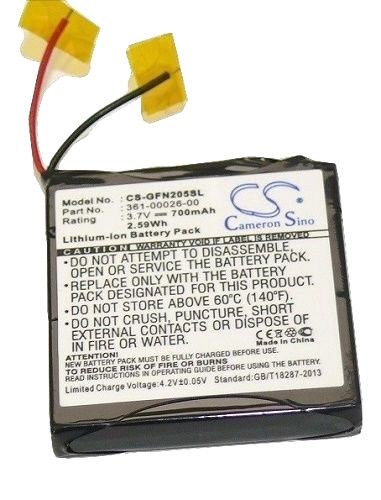 (Garmin 361-00026-00 Battery for Garmin Forerunner 205 / Forerunner 305 700mah)