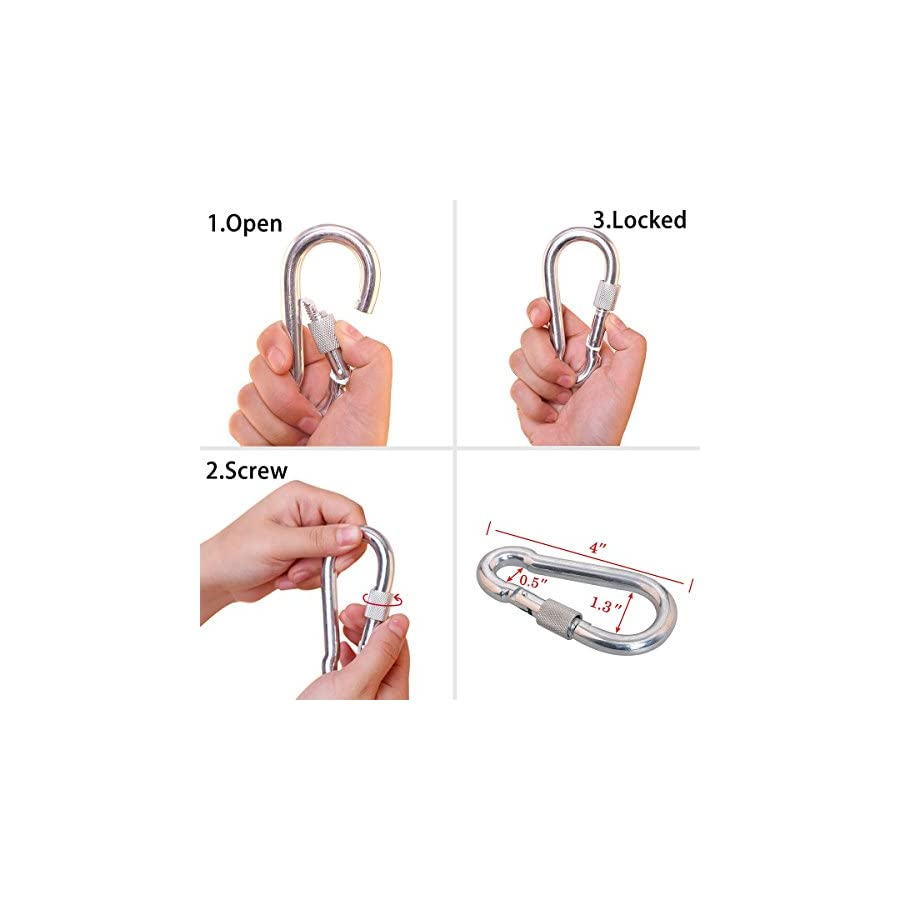 HandAcc Outdoor Climbing Rope 10M(33ft) 20M(66ft) 30M (98ft) 50M(164ft) 60M(197ft) 70M(229ft) Rock Climbing Rope, Diameter 10mm, Escape Rope Climbing Equipment Fire Rescue Parachute Rope
