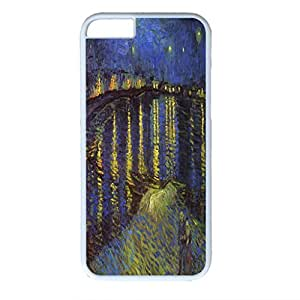 Vincent Van Gogh Design PC White Case for Iphone 6 The Navy Veteran