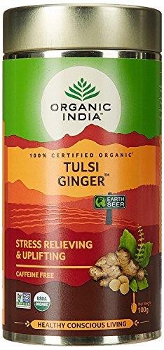 - Organic India - Org Tulsi Ginger OI-TTG100 | 100g | 2 PAC