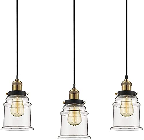 Woodbridge Lighting 12523BLK-S10401 Loop 1-Light Mini-Pendant, 8-1 2-Inch by 50-Inch, Black