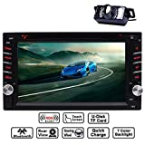 Cheap EinCar 6.2″ Double DIN Touchscreen In Dash Bluetooth Car Stereo Mp3 Audio Video DVD CD Player FM AM RDS Radio/TF/USB/AUX-in/Subwoofer/Steering Wheel Contrl/Rear View Camera + Remote Control