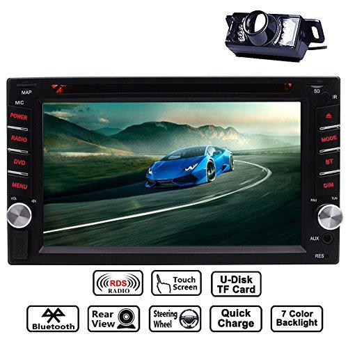 """EinCar 6.2"""" Double DIN Touchscreen In Dash Bluetooth Car Ste"""