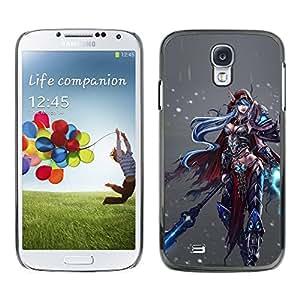 PC/Aluminum Funda Carcasa protectora para Samsung Galaxy S4 I9500 Game Fantasy Pc Character / JUSTGO PHONE PROTECTOR