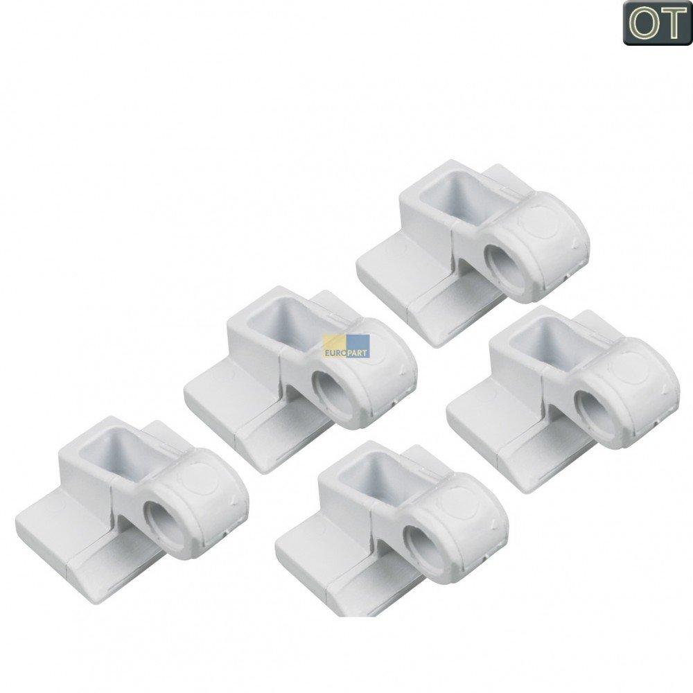Bosch Siemens Buchse 5 Stück für Gefrierfachtüre für Kühlschränke mit Frosterfach - 029965 daniplus