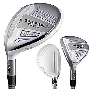 Adams Golf Super S Hybrid Golf Club (Left Hand, Graphite, Ladies, 22-Degree)