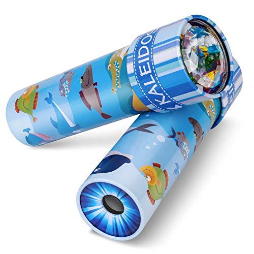 Rotation 3d Toy Kaleidoscope Kaleidoscope Prisme Telescope Puzzle Toy Early Education Toy Al/éatoire Style Dalimentation Pratique