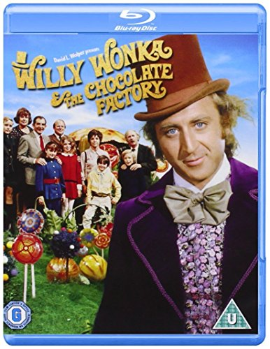 Willy Wonka And The Chocolate Factory [Blu-ray] [1971] [Region Free] (Chocolate Import)