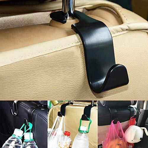 (MSOO 8PCS Car Hooks Vehicle Back Seat Hanger Universal Storage Bag Holder)