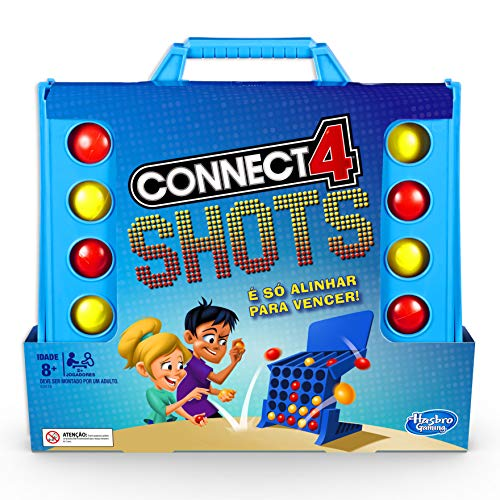 Jogo Connect 4 Shots - E3578 Hasbro Gaming
