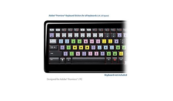 Adobe Premiere Pro apto de teclado pegatinas de etiquetas ...