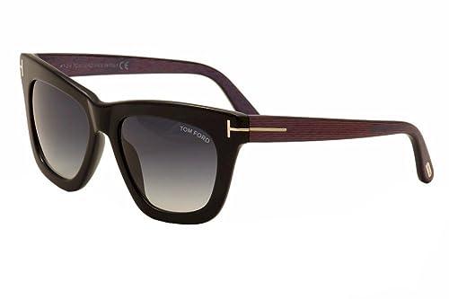 Sunglasses Tom Ford TF 361-F FT0361-F 01A shiny black / smoke