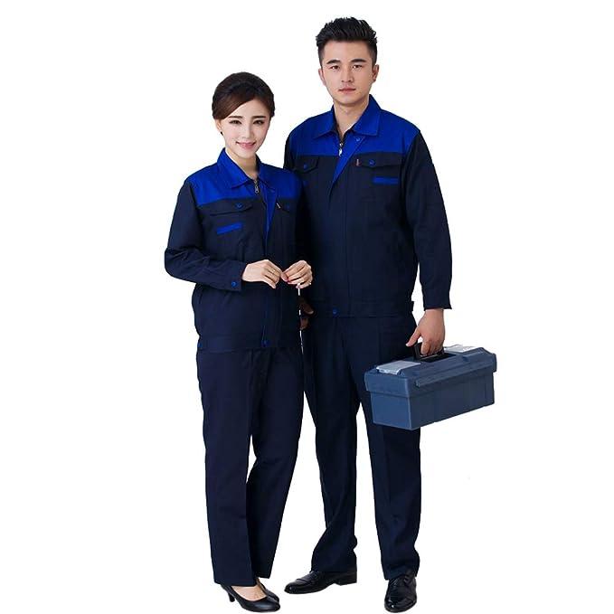 XFentech Ropa de Trabajo - Los Hombres de Dos Colores ingeniería de fábrica de Soldadura de Edificio reparación Conjunto de Ropa de Trabajo de Trabajo ...