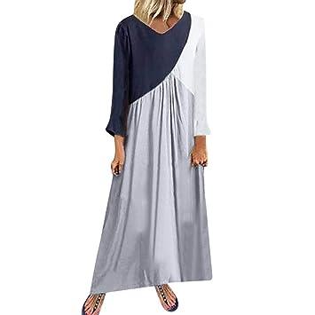 Zodof Vestidos Mujer Casual Vestido Bohemio Mujer Vestido De