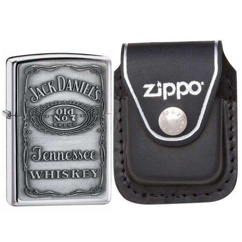 Zippo Pewter Jack Daniels Lighter Home & Appliances