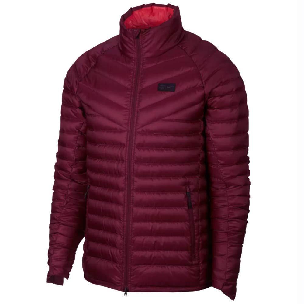 Nike FCB M NSW Ow Down JKT AUT - deep Maroon Tropical pink blac