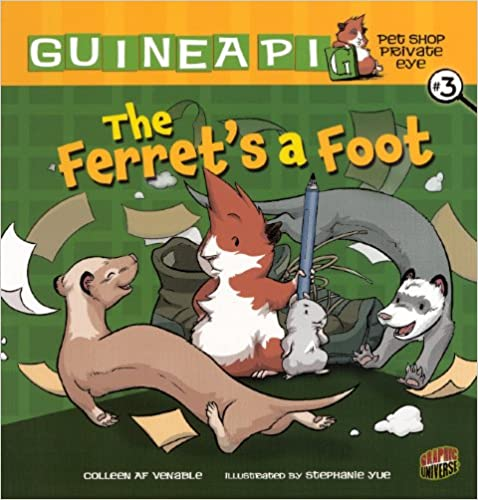 Livres de téléchargement en ligne de google books The Ferret's A Foot (Turtleback School & Library Binding Edition) (Guinea Pig Pet Shop Private Eye) CHM by Colleen A. F. Venable