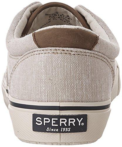 Sperry Top-Sider Striper Ll Cvo Linen, Zapatillas para Hombre Beige (Tan Chino)