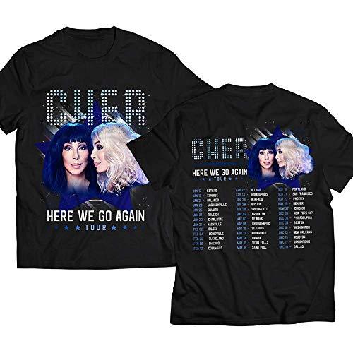 Cher Pop Queen Pop Music Fan Customized T-Shirt/Long Sleeve/Sweatshirt/Hoodie/Tank Top
