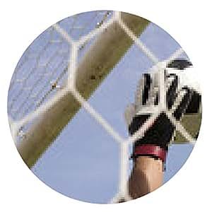 alfombrilla de ratón las manos del portero alcance la bola del pie - ronda - 20cm