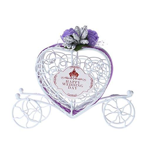 LANDUM Cinderella Carriage Chocolate Candy Box Birthday Wedding Party Favour Decor Gift