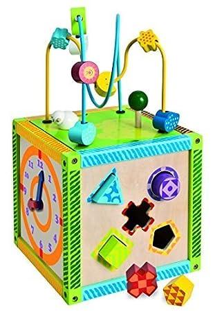 Amazon Com Eichhorn 100002235 Buntes Holz Spielcenter Inklusive