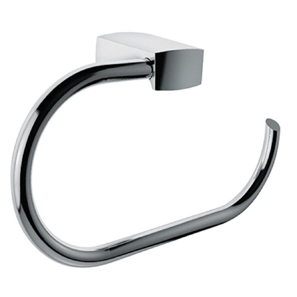 LaToscana LDCR07 Lady Towel Ring In A Chrome Finish by La Toscana B00ND77YKG光沢クロム