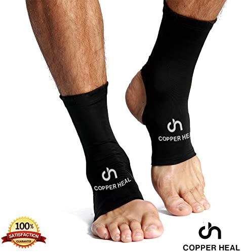 COPPER HEAL Ankle Compression Sleeve