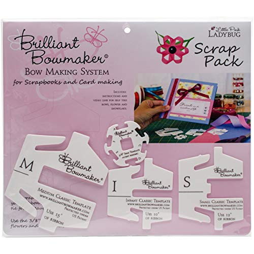 - Little Pink Ladybug Kit Brilliant Bowmaker Scrap Pack