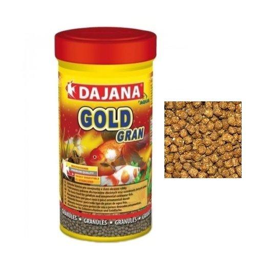 Dajana gold gran mangime completo in granuli per pesci for Pesci rossi prezzo