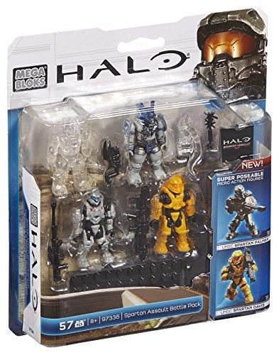 Pack Battle Assault (Mega Bloks Halo Spartan Assault Battle Pack)
