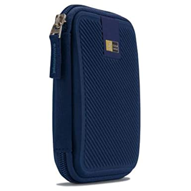 Amazon.com: Case Logic Portable Hard Drive Case, Azul oscuro ...
