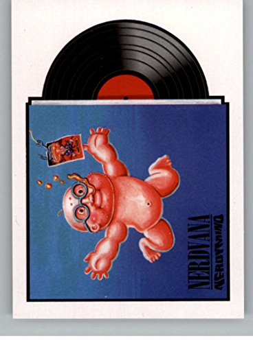 Garbage Pail Kids Poster (2017 Topps Garbage Pail Kids Series 2 Album Covers and Concert Posters #5 NERDVANA NERDYMIND)
