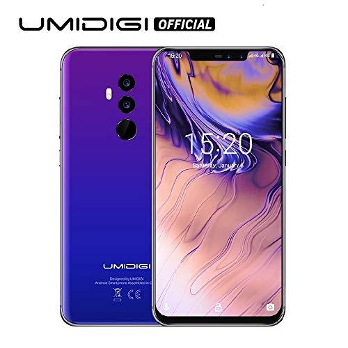 UMIDIGI Z2 Special Edition- 4GB RAM+64GB ROM Unlocked Cell Phone – 6.2″ FullView Display(19:9 Ratio – Dual Sim 4G Volte Unlocked Smartphone -16MP+8MP Dual Camera – 3850mAh Battery(Fantastic)