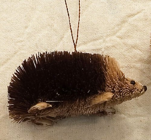 Buri Brush Hedgehog Ornament by Brushart