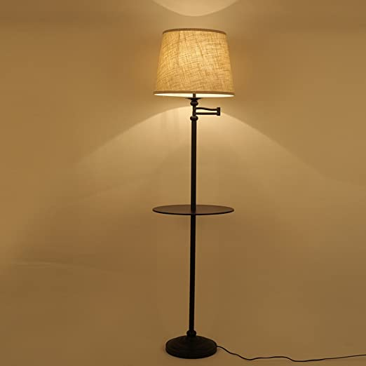 NAUY- American mesa de café lámparas de pie Simple moderna sala de ...