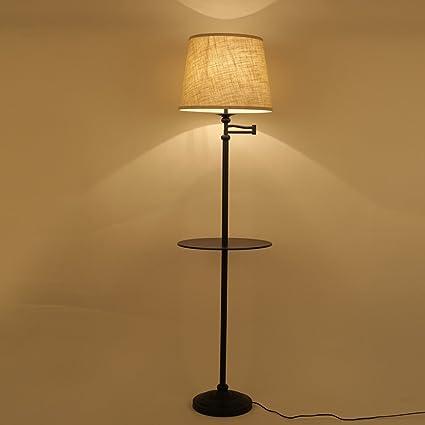 NAUY- American mesa de café lámparas de pie Simple moderna ...