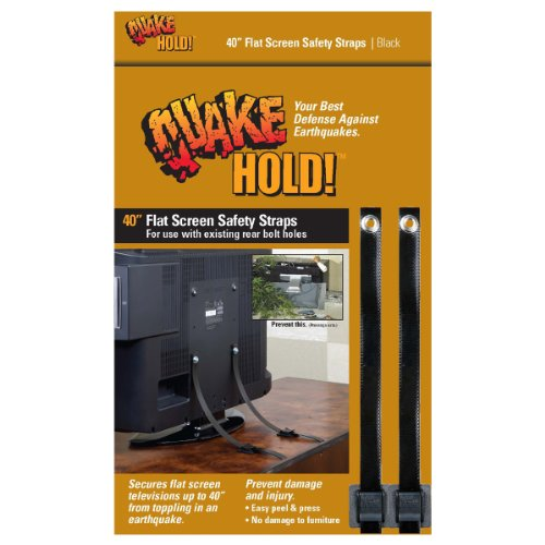 Quakehold! 4515 40-Inch Flat Screen TV Safety Strap by Quakehold!