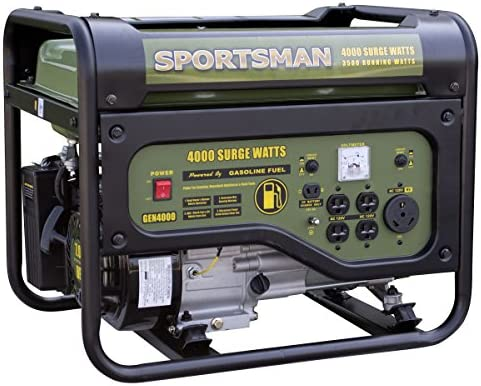 Sportsman GEN4000, 3500 Running Watts 4000 Starting Watts, Gas Powered Portable Generator