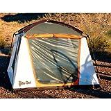 Paha Que Wilderness Green Mountain 4 Person Tent (BurntOrange, 96 x 96 x 72-Inch), Outdoor Stuffs