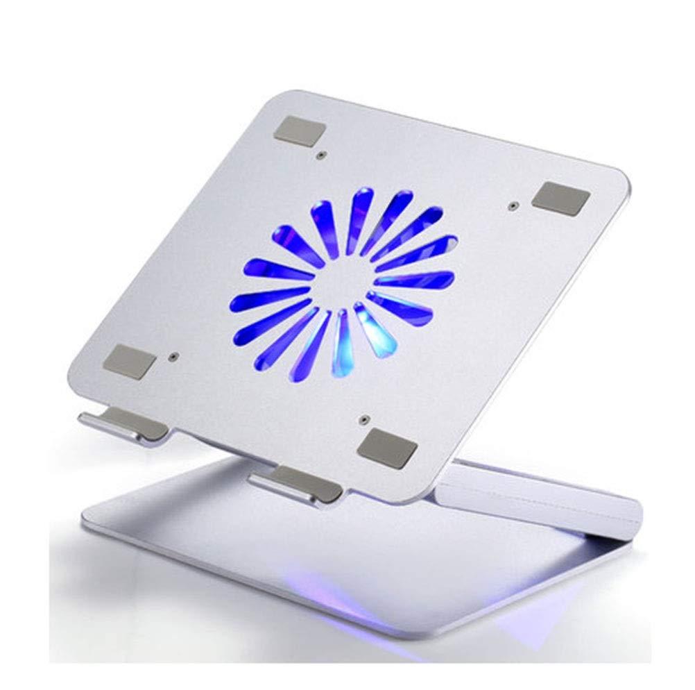 PANGU-ZC Notebook Cooler - Home Notebook Stand Radiator Blue Fan Durable Radiator