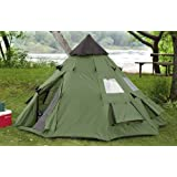 Guide Gear 10x10' Teepee Tent by Guide Gear