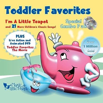 Toddler Favorites: Special Combo Pak [CD/DVD Combo]