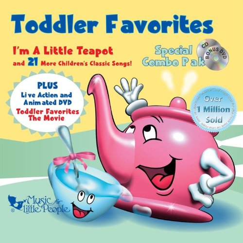 Toddler Favorites: Special Combo Pak [CD/DVD Combo] by Music For Little People