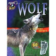 Sticker Safari Book Wolf